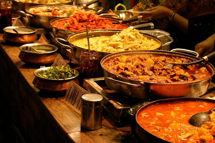 There are more Indian restaurants in London than in Mumbai or Delhi.