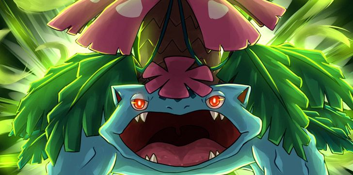 Mega Venusaur has the highest stats of all Poison type Pokémon.