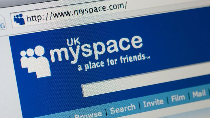 MySpace lost all of its content before 2016.