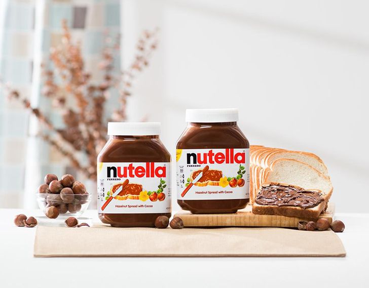 A ridiculous amount of Nutella is sold every year.