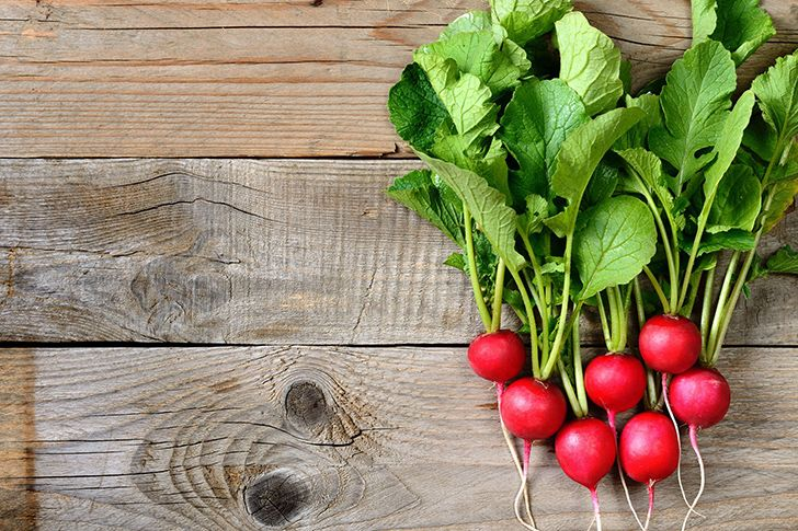 In ancient Egyptian days, radishes, onions, and garlic were given to workers as wages.