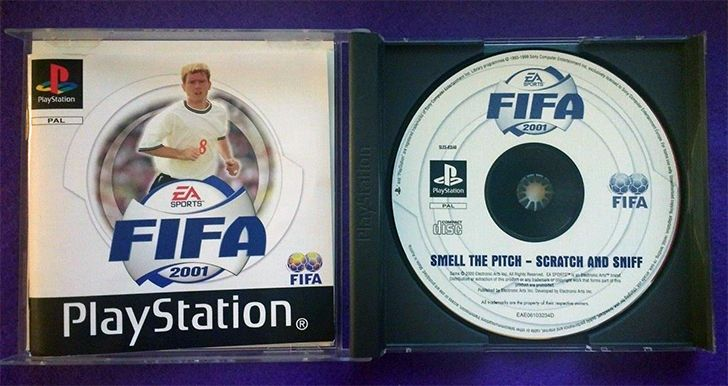 PlayStation 1 had Scratch and Sniff discs.