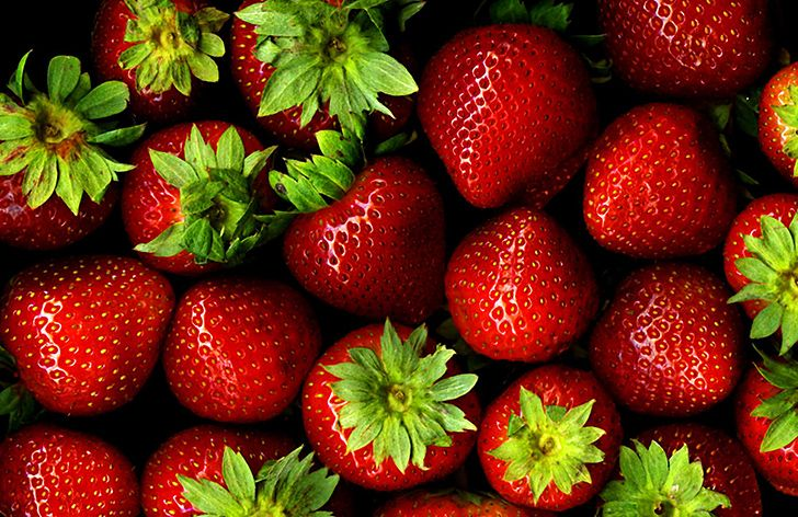 Strawberries are not berries.