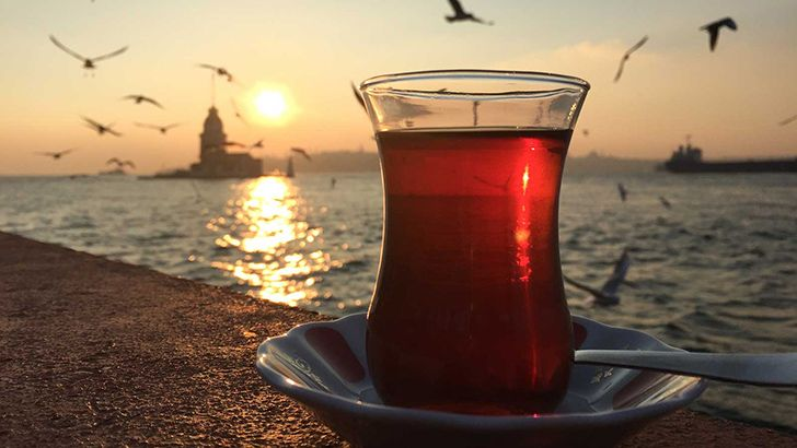 Turkey consumes the most tea per person.