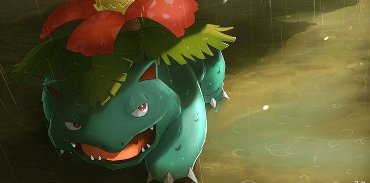 Venusaur is based on a frog.