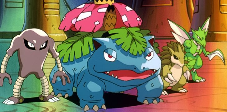 The scent from Venusaur's flower gets stronger after rain.