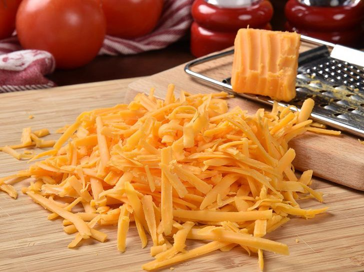 There's wood pulp in shredded cheese.