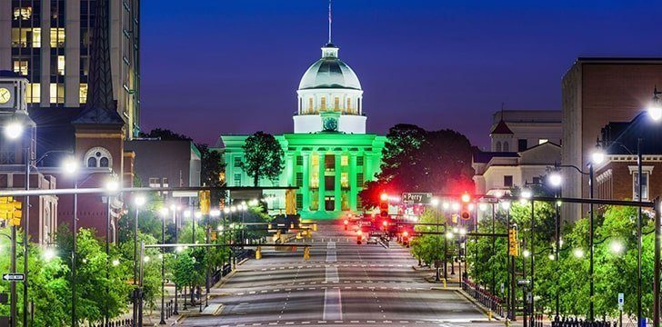 Montgomery, Alabama, was the capital of the Confederate States of America.