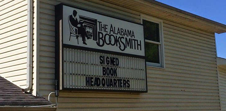Alabama is home to the only bookstores in the world that only sells signed copies.
