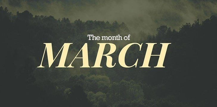 Awesome Facts about March