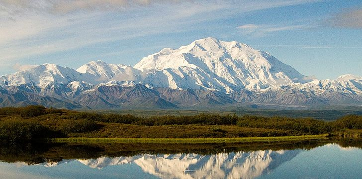 Alaska has some of the US' highest mountains.