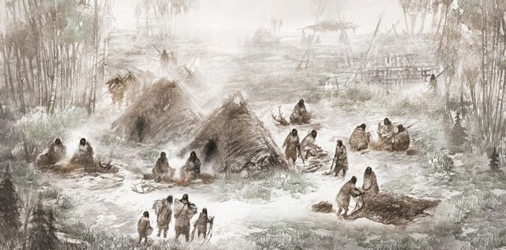 People have lived in Alaska for over 15,000 years.