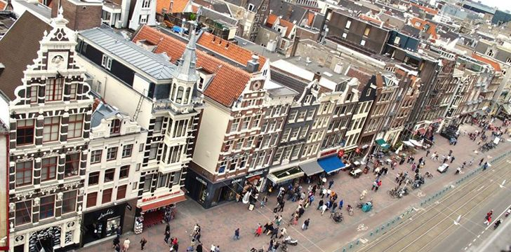 Amsterdam's main shopping street has existed for over 600 years!