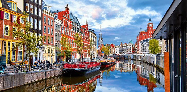 Amsterdam is a city built on wooden poles.