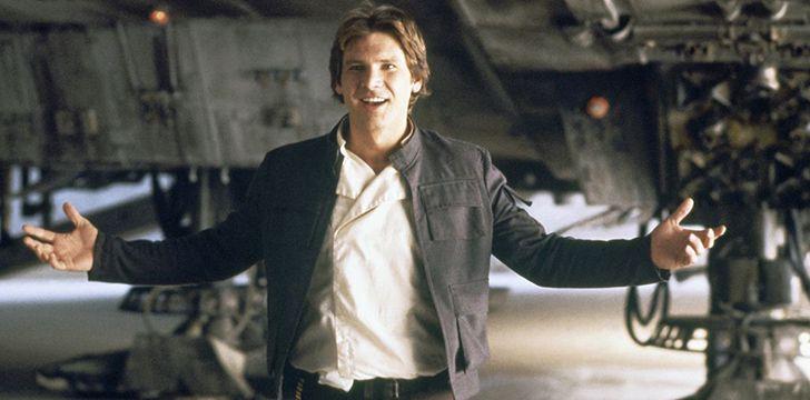Han Solo was originally an alien Jedi.