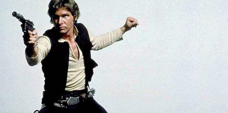 Han Solo's pants had something called a Corellian Bloodstripe.