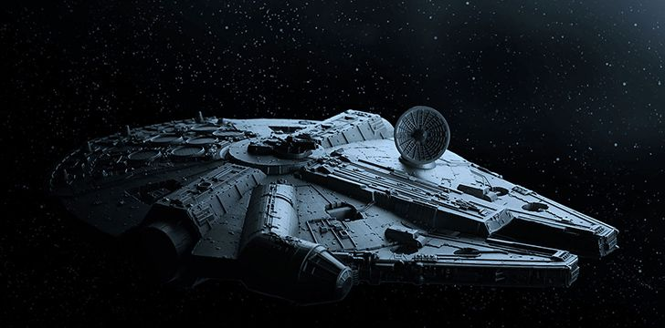 Han and the Falcon both became famous after their Kessel Run.