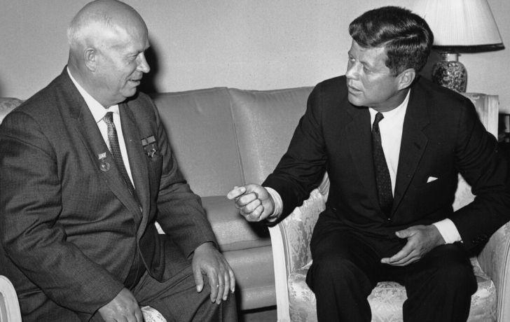 Khrushchev and Nixon