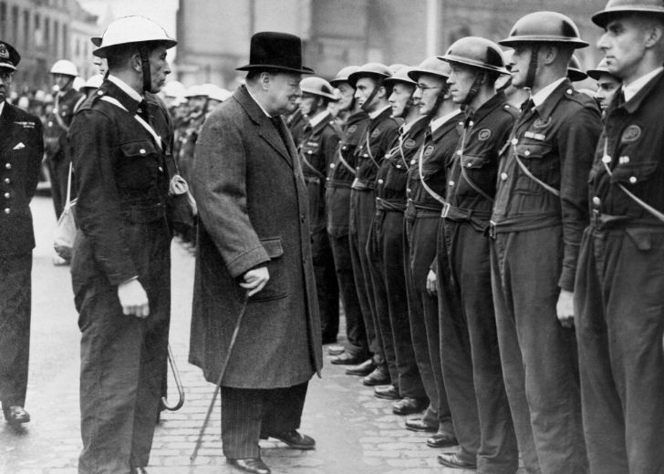 Winston Churchill got voted out before the end of the Second World War