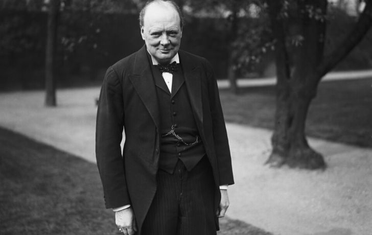 Winston Churchill suffered with mild depression throughout his life