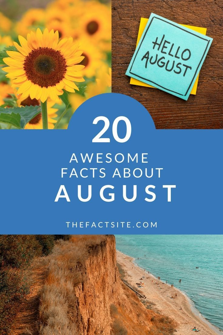 20 Awesome Facts About August