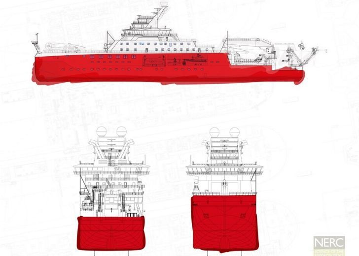 Design of the 15,000-ton surveying behemoth ship