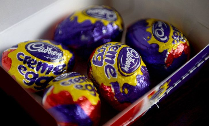 Cadbury's Creme Egg Packaging