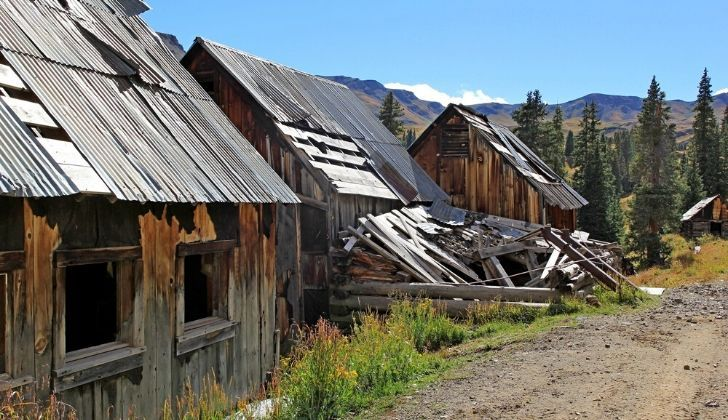 A small Colorado ghost town