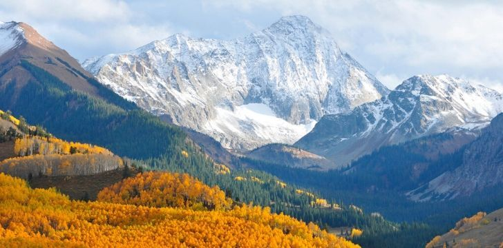 Colorado serene landscape