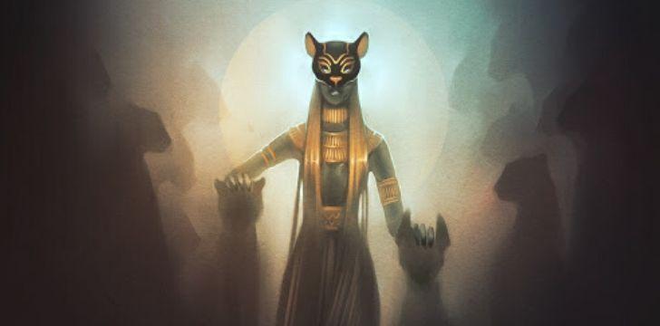 The great cat goddess Bastet.