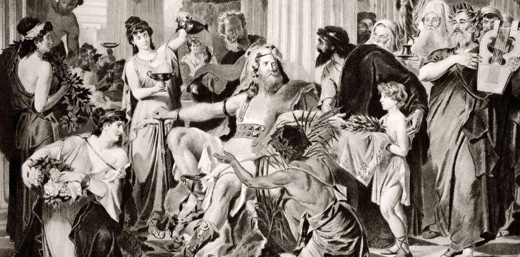 An illustration of King Alaric