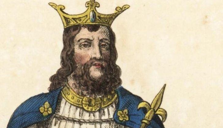 An illustration King Odoacer.