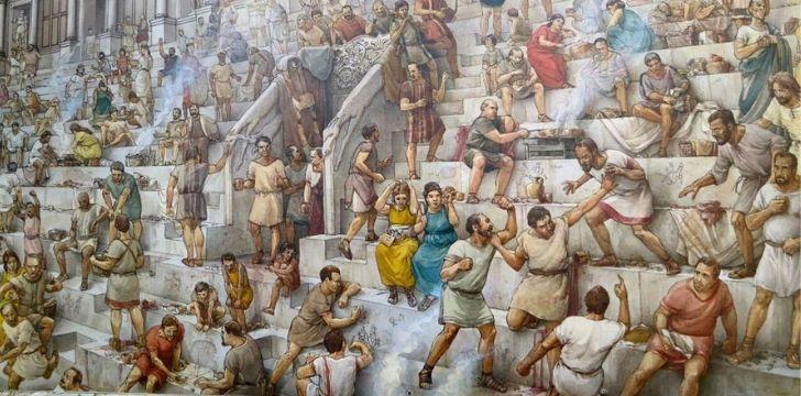 An illustration of plebeians.
