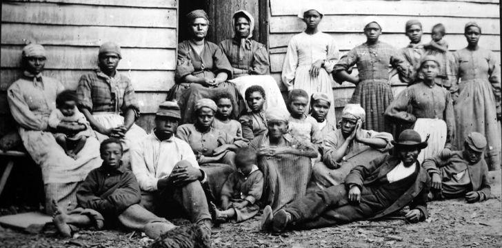 African American slaves.
