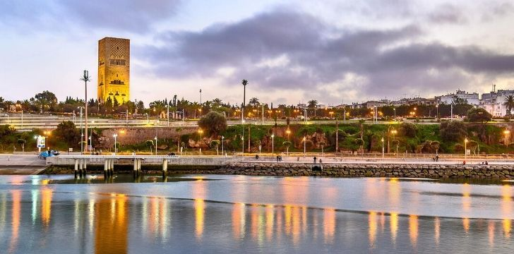 Rabat skyline.
