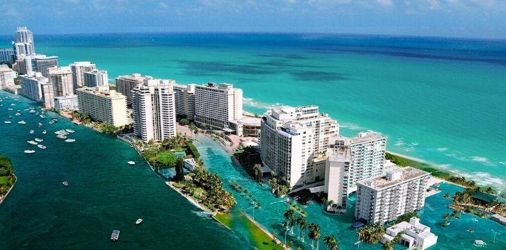 Flooding on Miami Beach