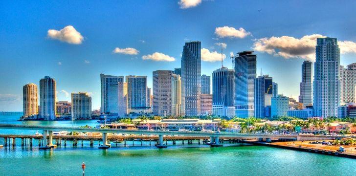 Skyline of Miami Dade