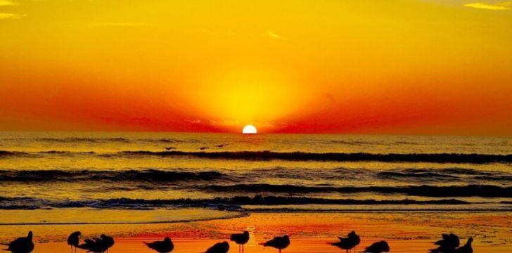 Warm Floridan sunset
