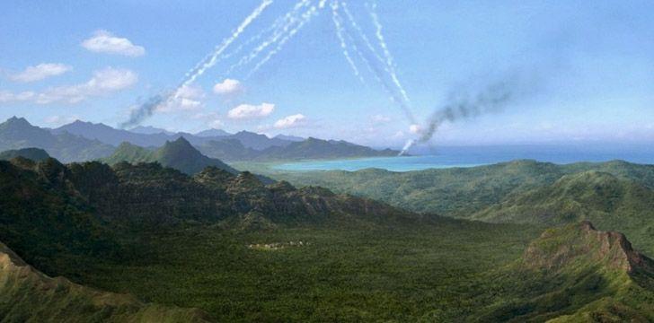 Lost Plane Crash on Island