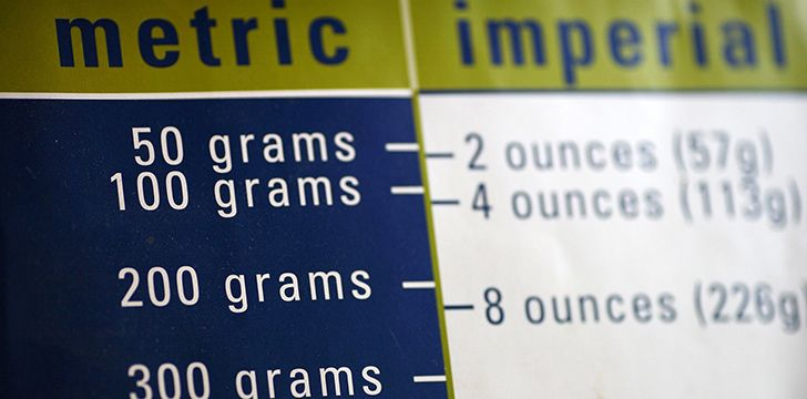 The metric system is appealing because it's so easy