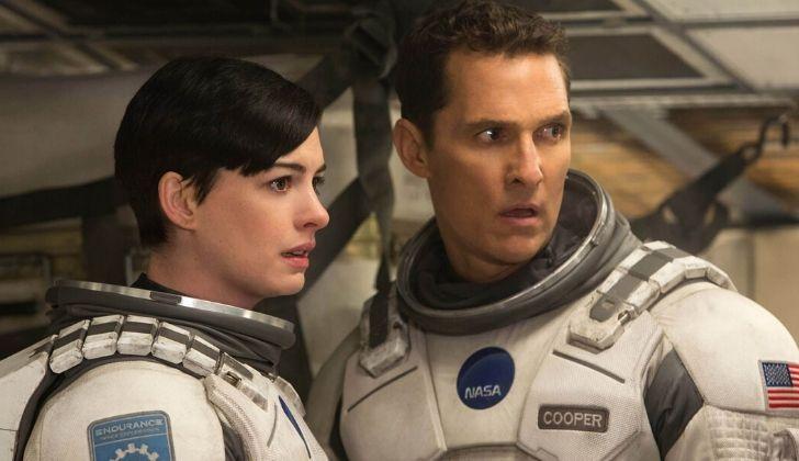 Astronauts in the movie Interstellar