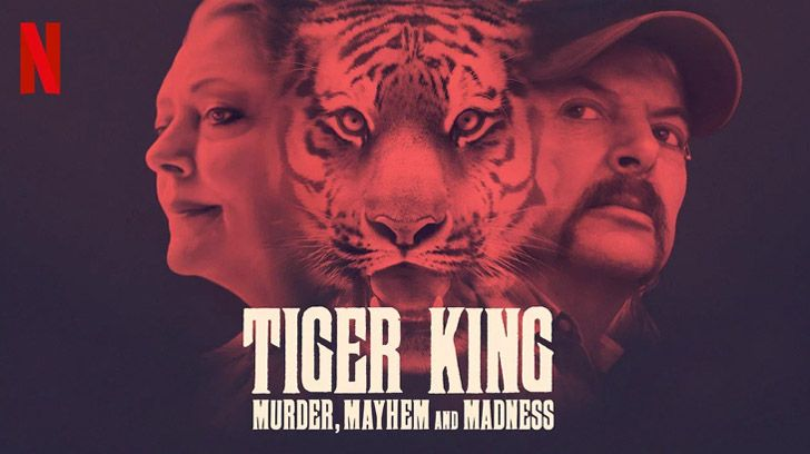 Tiger King: Murder, Mayhem and Madness Netflix Artwork