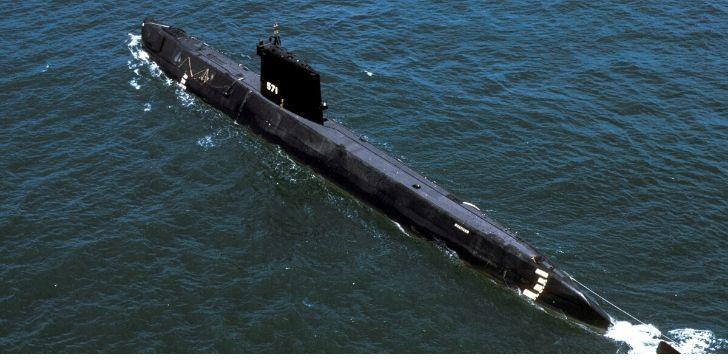 USSN-571 nuclear submarine
