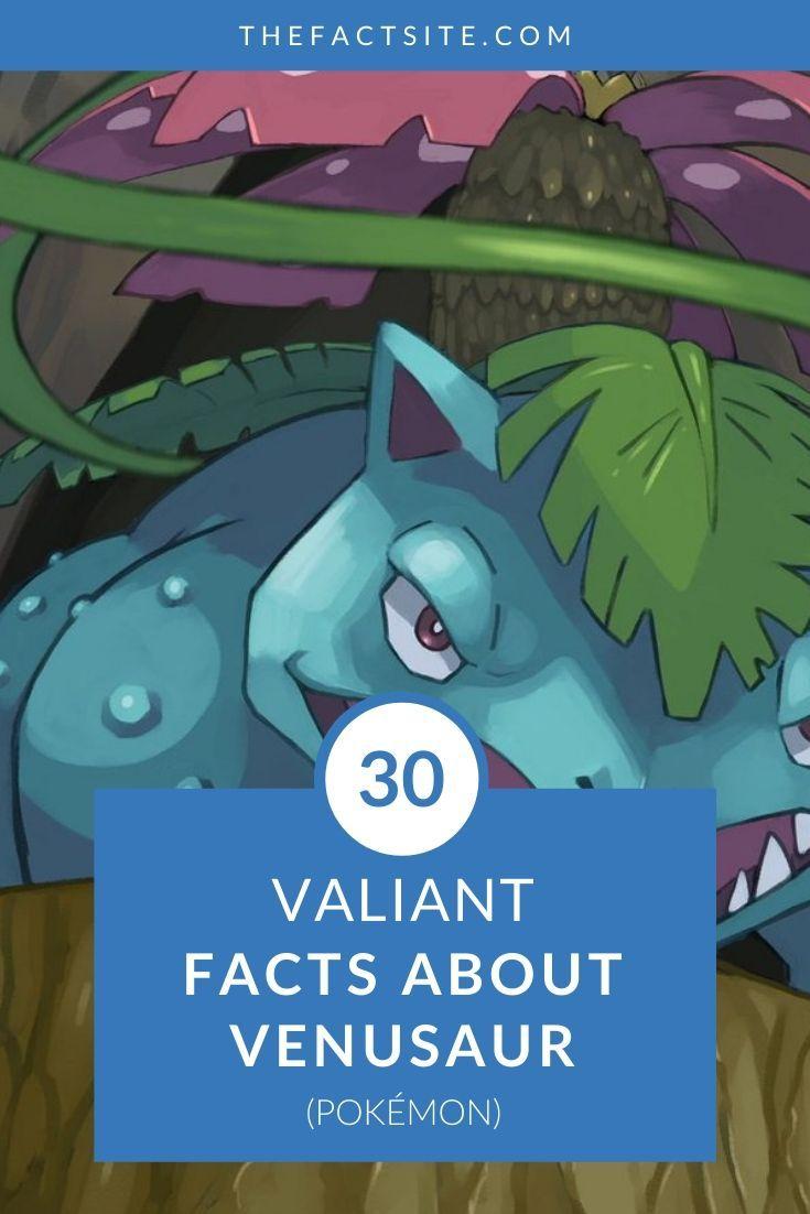 30 Valiant Facts About Venusaur | Pokémon