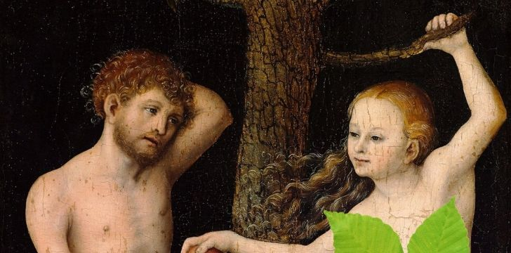 Adam and Eve were saints