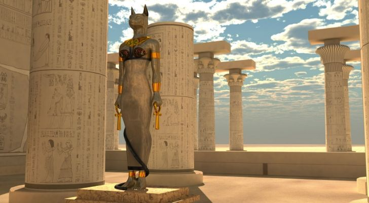 The Ancient Egyptian Bastet statue