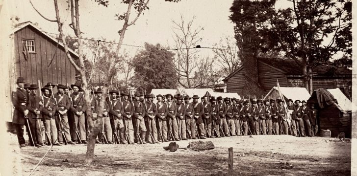 Troops during the Civil War