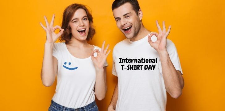 International t-shirt day