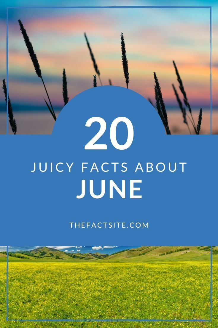 20 Juicy Facts About June