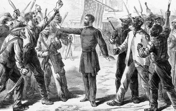 "Illustration of the ""bleeding Kansas"""